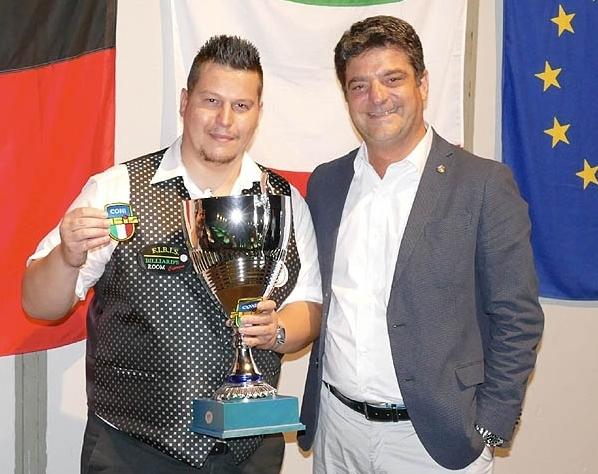 Daniele Palmieri Campione Italiano Master 2017/2018