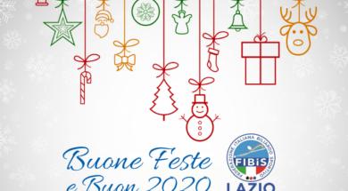 Buone Feste Buon 2020 FIBiS Lazio